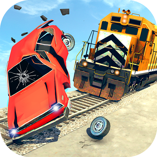 Train Vs Car Crash: Racing Games 2019 Mod Apk 1.2