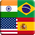Flags Quiz Gallery : Quiz flags name and color Mod Apk Flag Flag 1.0.188