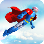 Flying Hero Robot Transform Car: Robot Games Mod Apk 3.0.4