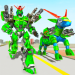 Goat Robot Transforming Games: ATV Bike Robot Game Mod Apk 1.5