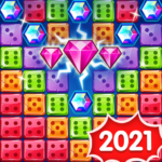 Jewel Games 2020 – Dice Merge Jewels & Gems Crush Mod Apk 1.4.17