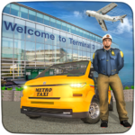 Real Taxi Airport City Driving-New car games 2020 Mod Apk 1.8