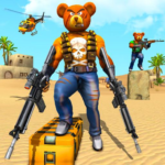 Teddy Bear Gun Strike Game: Counter Shooting Games Mod Apk 3.2