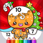 Christmas Coloring Book By Numbers Mod Apk 2.4