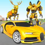 Deer Robot Car Game – Robot Transforming Games Mod Apk 1.0.7