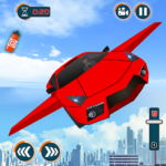 Flying Car Shooting Games – Drive Modern Cars Game Mod Apk 1.7