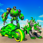 Flying Tiger Robot Attack: Flying Bike Robot Game Mod Apk 3.0.3
