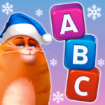 🎄Kitty Scramble: Word Stacks Mod Apk 1.210.12
