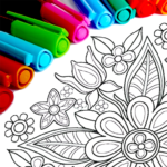 Mandala Coloring Pages Mod Apk 15.9.6