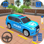 Police Jeep Spooky Stunt Parking 3D Mod Apk 0.5