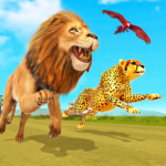 Savanna Animal Racing 3D: Wild Animal Games Mod Apk 1.0