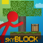 Stickman vs Multicraft: Skyblock Craft Mod Apk 1.1.4