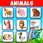 Animal sounds. Learn animals names for kids Mod Apk 6.6