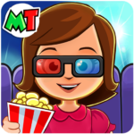 My Town : Cinema & Movie Star – Kids Movie Night Mod Apk 1.10