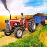 Tractor Trolley Drive Offroad Cargo: Tractor Games Mod Apk 1.0.8