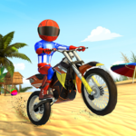 Beach Bike Stunts: Crazy Stunts and Racing Game Mod Apk 7.2