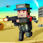 Blocky Army Base:Modern War Critical Action Strike Mod Apk 1.14