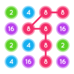 Connect The Pops : Join The Dots : Connect Number Mod Apk 1.3