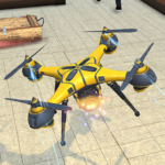 Drone Attack Flight Game 2020-New Spy Drone Games Mod Apk 1.5