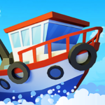 Fish idle: hooked tycoon. Your own fishing boat Mod Apk 4.0.10