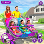 New Mother Baby Triplets Family Simulator Mod Apk 1.1.8