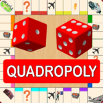 Quadropoly Best AI Board Business Trading Game Mod Apk 1.78.83