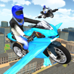Flying Motorbike Simulator Mod Apk 1.20