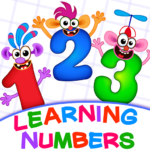 Learning numbers for kids! Writing Counting Games! Mod Apk 2.0.2.5