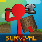 Stickman vs Multicraft: Noob Survival Mod Apk 1.0.5