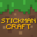 Stickman vs Multicraft: Survival Craft Pocket Mod Apk 1.1.1