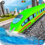Underwater Bullet Train Simulator : Train Games Mod Apk 3.5.0
