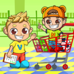 Vlad & Niki Supermarket game for Kids Mod Apk 1.1.9