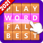 Word Fall – Brain training search word puzzle game Mod Apk 3.2.4