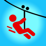 Zipline Valley – Physics Puzzle Game Mod Apk 1.9.4