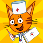 Kid-E-Cats Animal Doctor Games for Kids・Pet Doctor  1.8.8 Mod Apk