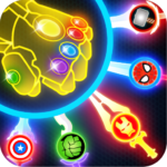 Super Hero Knife Battle_Free App Mod Apk 1.6