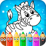 Coloring pages for children: animals Mod Apk 1.0.9