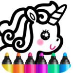Kids Drawing Games for Girls! Apps for Toddlers! Mod Apk 1.6.0.12
